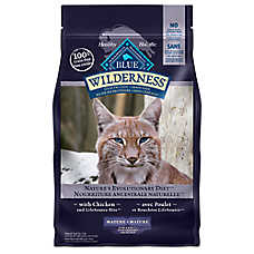 BLUE Wilderness® Mature Cat Food - Chicken
