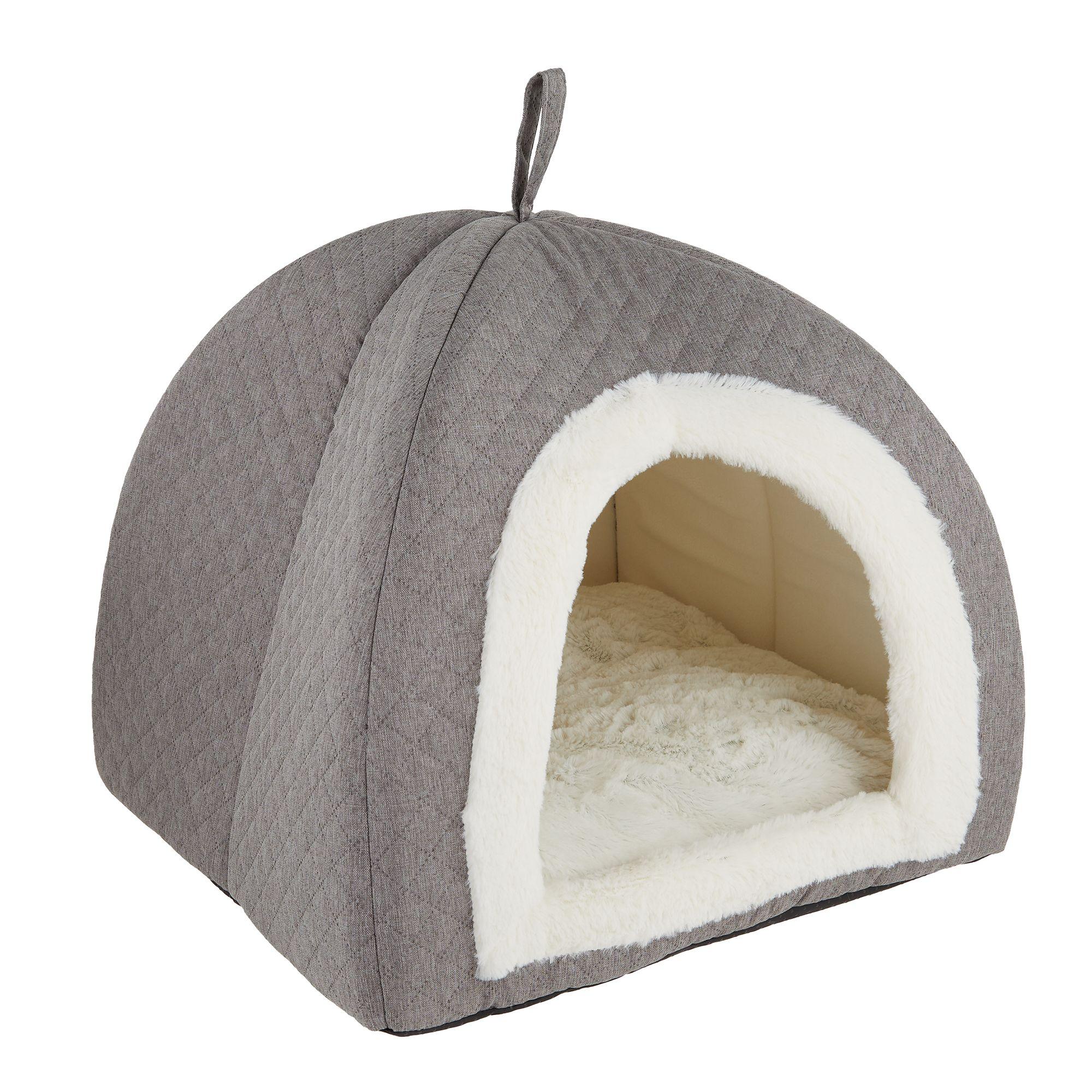 Top Paw Pyramid Hut Dog Bed Dog Cuddler Beds Petsmart