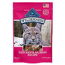 BLUE Wilderness® Cat Treats - Natural, Grain Free, Chicken & Salmon