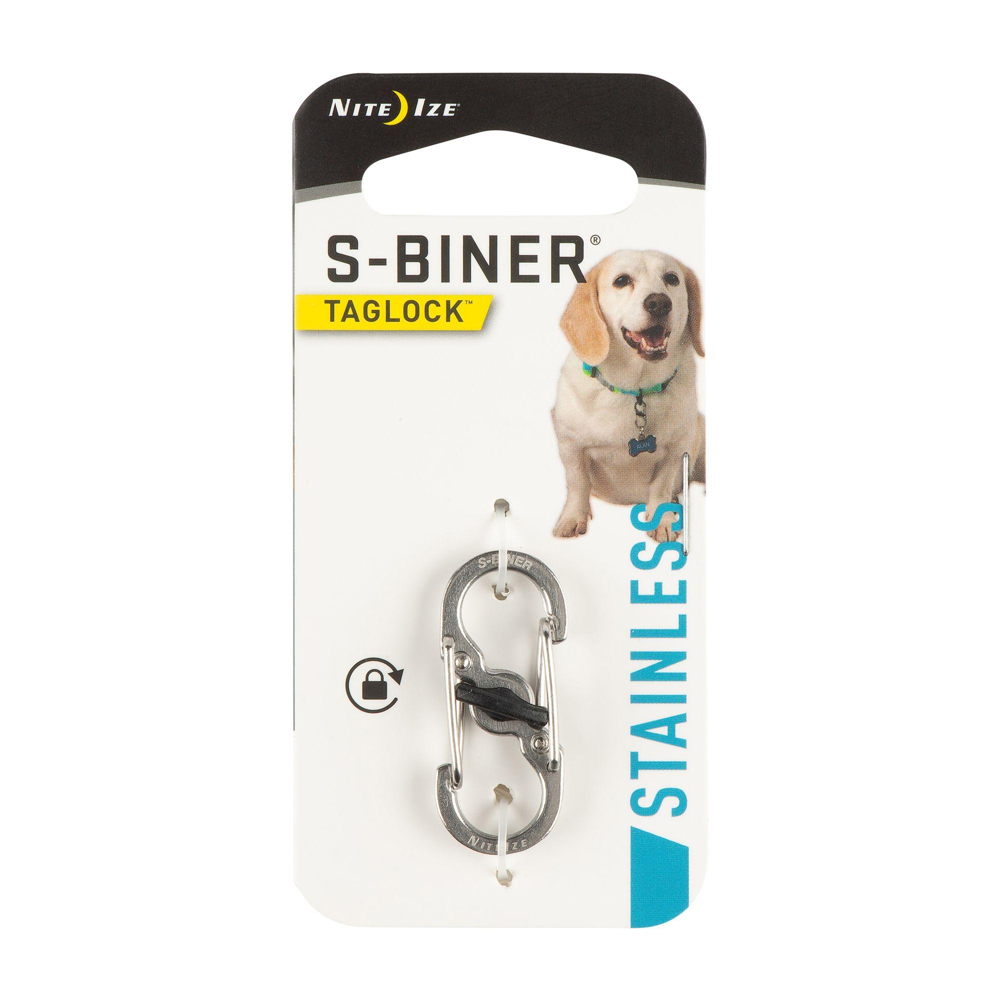 Nite Ize S Biner Stainless Steel Pet Taglock Trade Dog Id Tags Petsmart