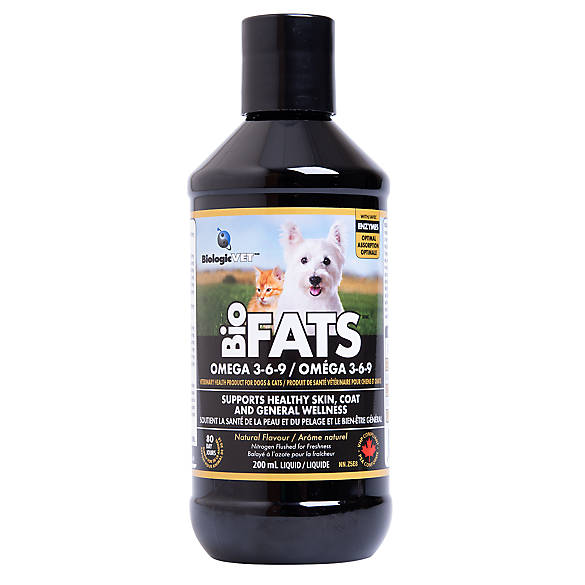 BiologicVET™ BioFATS™ Omega 3-6-9 Liquid Supplement For