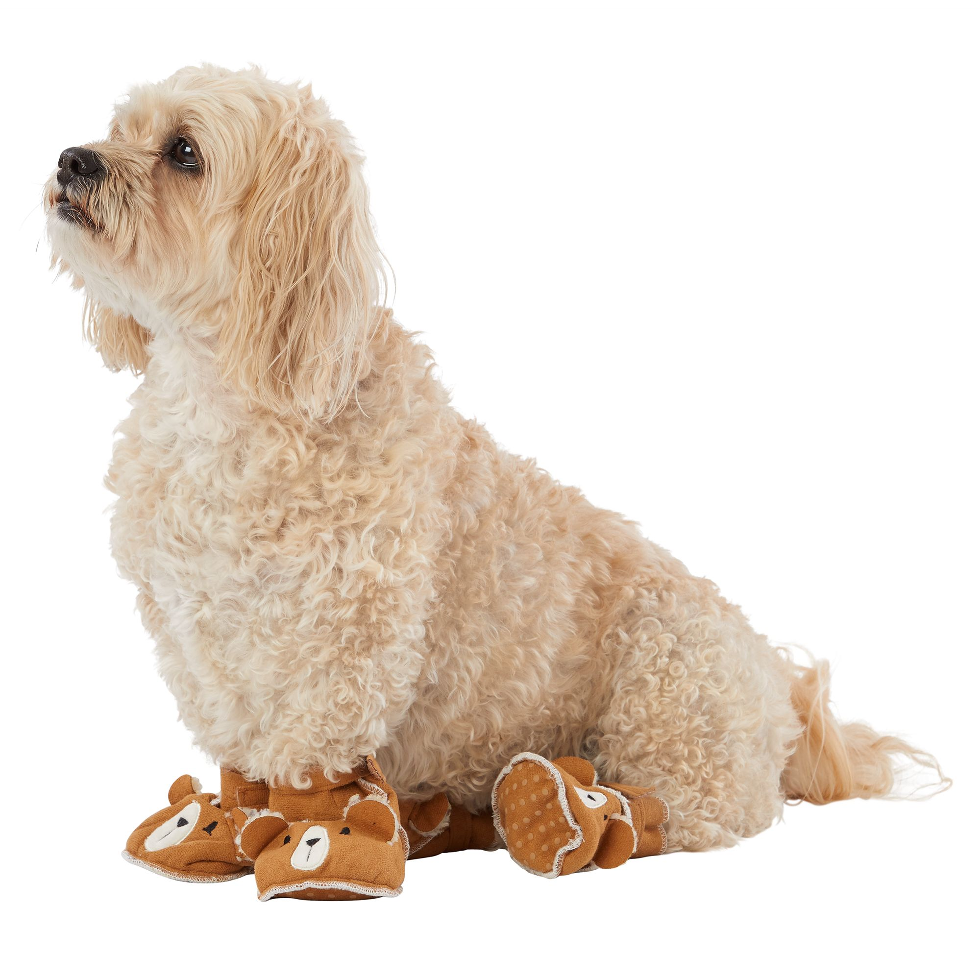 Top Paw Holiday Bear Pet Slippers