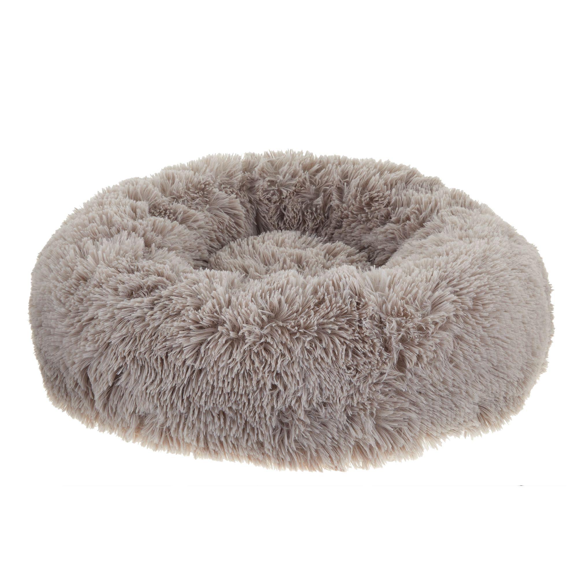 Whisker City® Fur Donut Cuddler Cat Bed