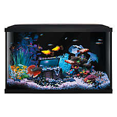 save 25%	entire stock Top Fin® Colorflow aquatic starter kits, 10 & 20 gal.