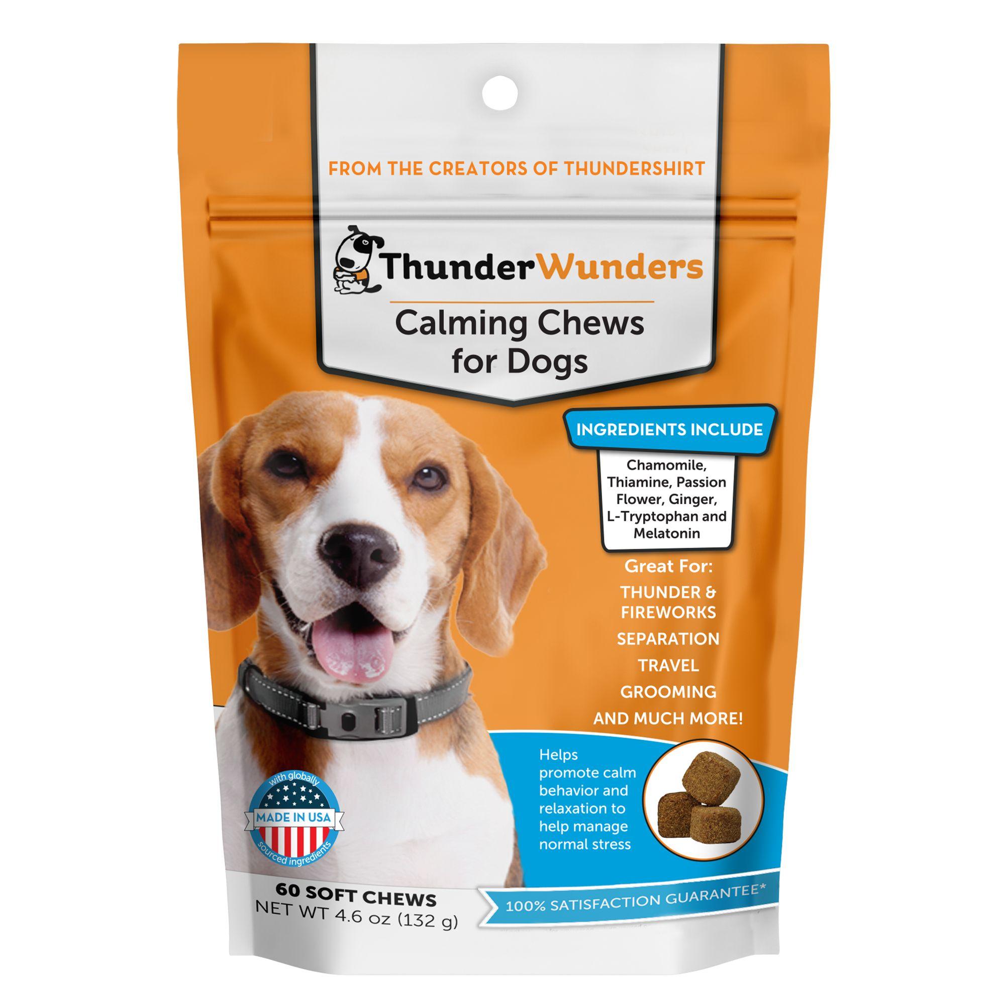 Thunderwunders Calming Dog Chews Dog Vitamins Supplements Petsmart