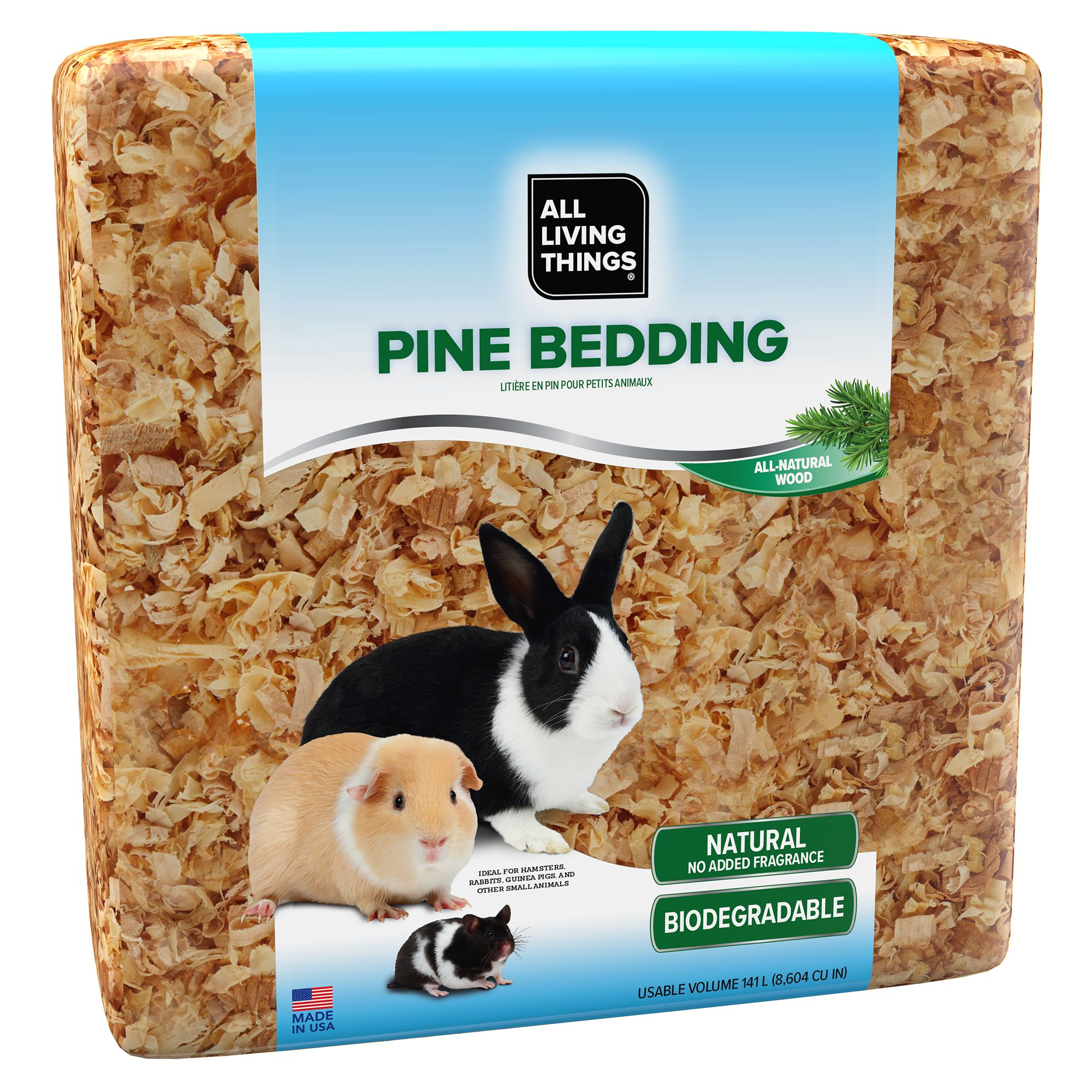 All Living Things® Pine Small Animal Bedding