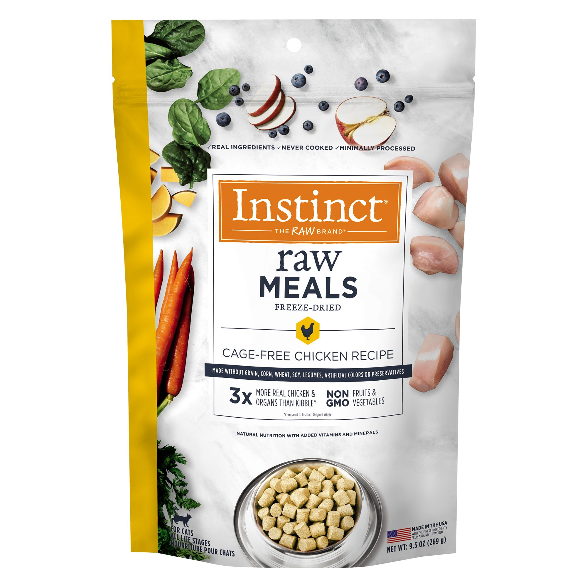 Nature S Variety Instinct Raw Meals Freeze Dried Cat Food