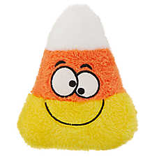 Thrills & Chills™ Pet Halloween Candy Corn Dog Toy - Plush, Squeaker