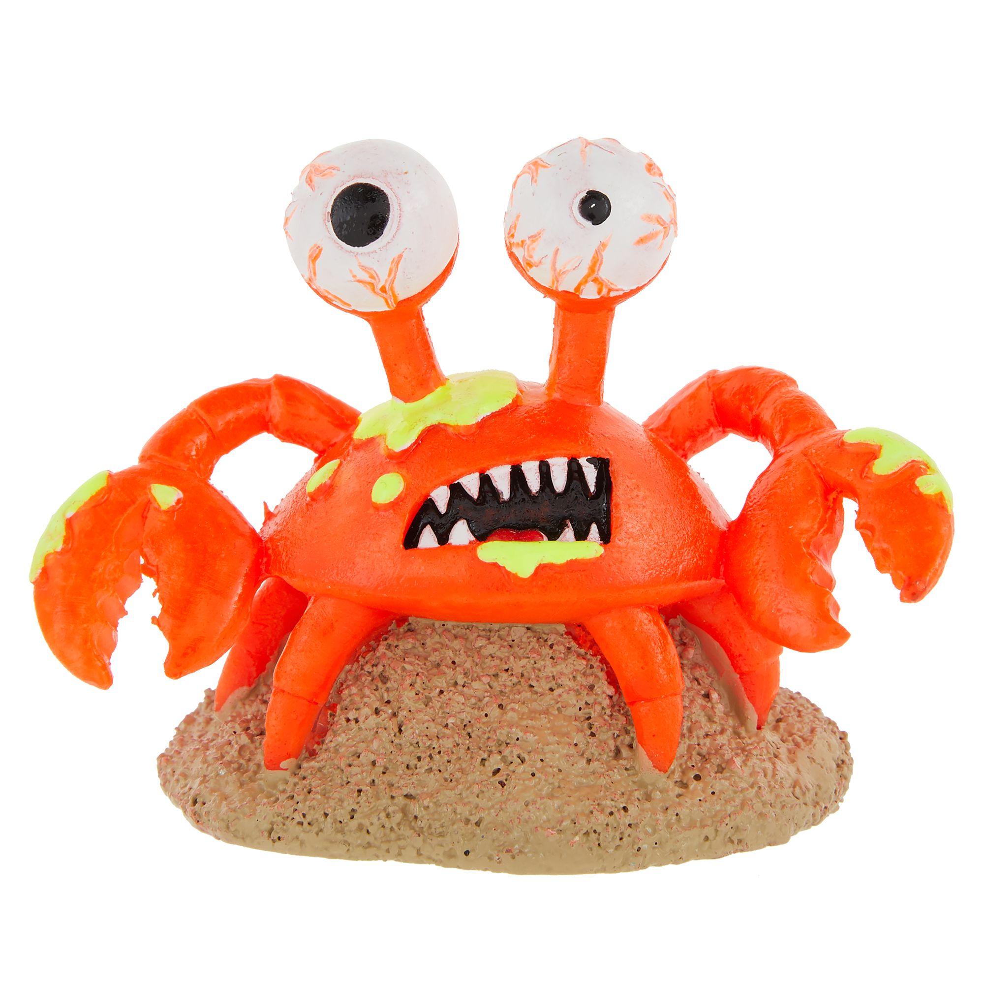Thrills Chills Trade Zombie Crab Halloween Aquarium Ornament Fish Ornaments Petsmart