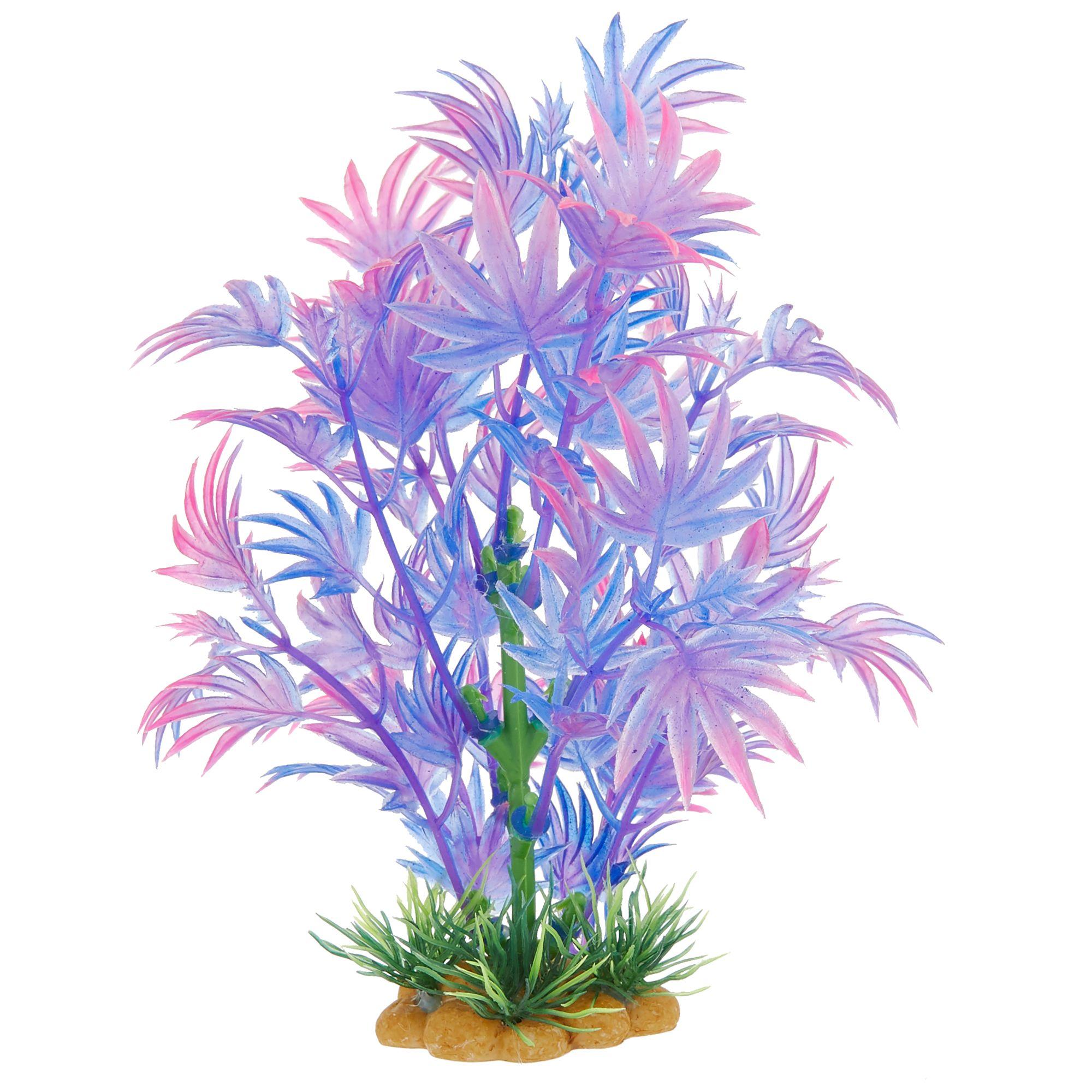 Thrills Chills Trade Purple Plant Halloween Aquarium Ornament Fish Ornaments Petsmart