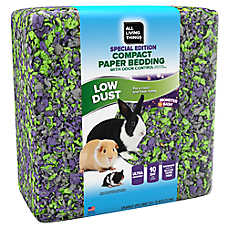 buy 1, get the 2nd 50% off select All Living Things®small pet bedding