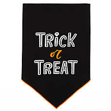 Thrills & Chills™ Pet Halloween Trick or Treat Pet Bandana