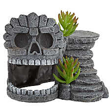Thrive Skull Cave Reptile Decor