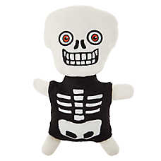 Thrills & Chills™ Pet Halloween Skeleton Dog Toy - Plush, Grunter