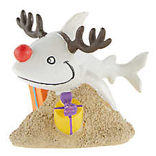 Merry & Bright Reindeer Aquarium Ornament