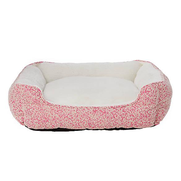 Top Paw Tweed Cuddler Dog Bed Dog Cuddler Beds Petsmart