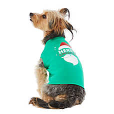 save 50% 	entire stock holiday dog toys, apparel, collars & accessories