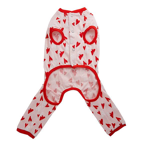 Lightning Strike Design Red Valentine Socks