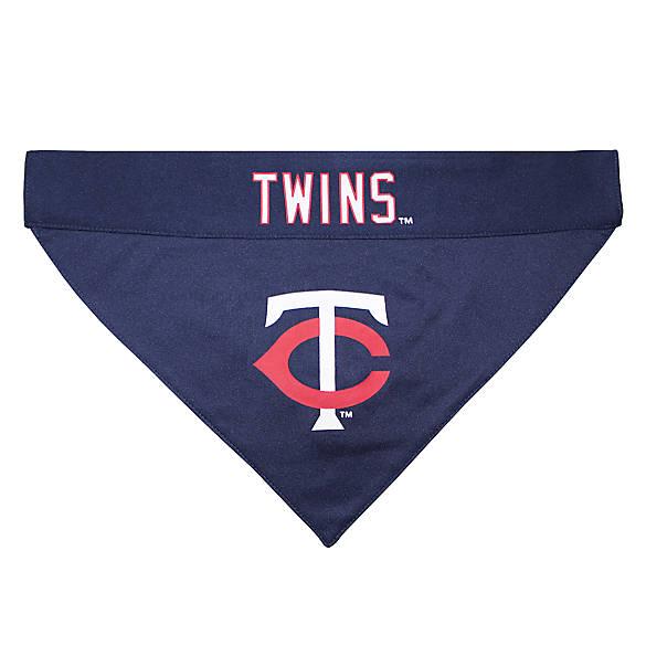 baseball bandana pet clothing pet attire dog scarf pet scarf reversible custom pet bandanas minnesota baseball fabric dog bandana