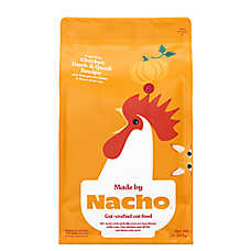 sale $10.99	entire stock Made by Nacho™ cat food, 2 lb. bags