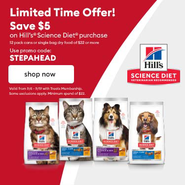 Step ahead for their best life. Shop Hill's Science Diet & Save!