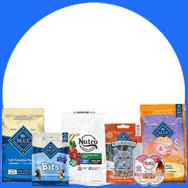 Shop and get 25% off your first autoship order of Nutro & Blue Buffalo dog and cat food and treats.