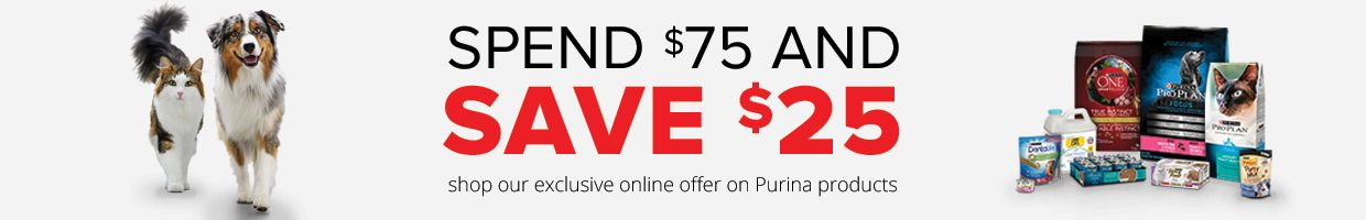 Shop our exclusive online offer on Purina products