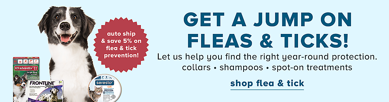 Shop Flea & Tick