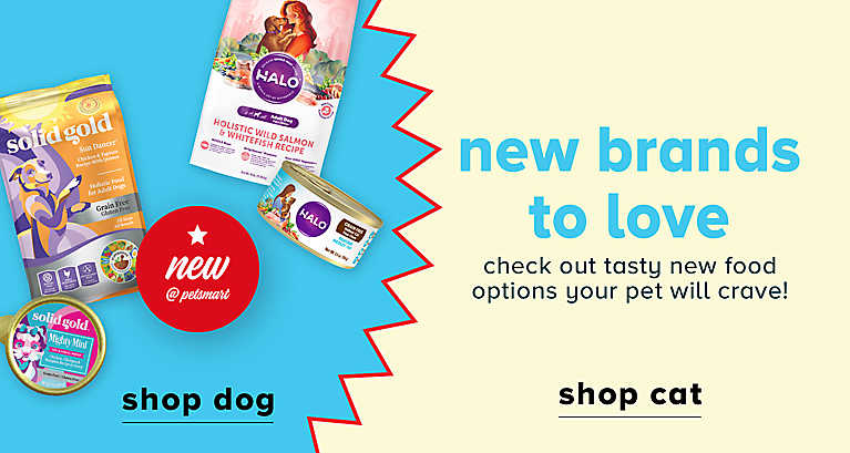 Check out the New brands at PetSmart - Halo & Solid Gold