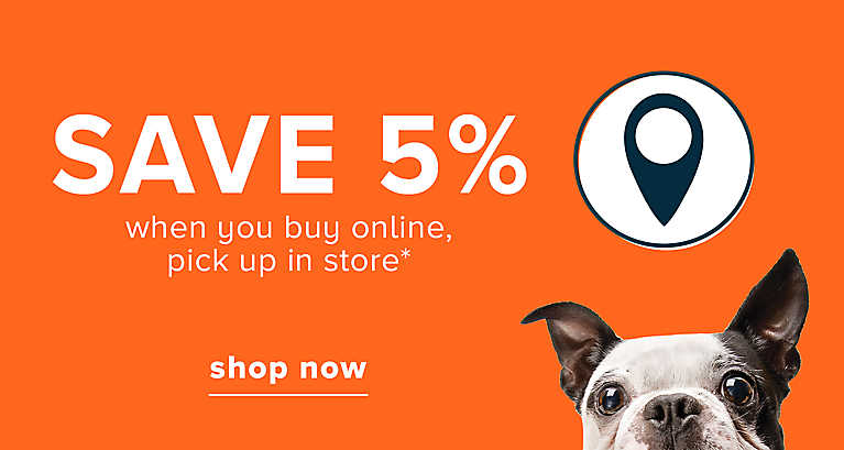 Save 5% when you buy online, pick up in store >