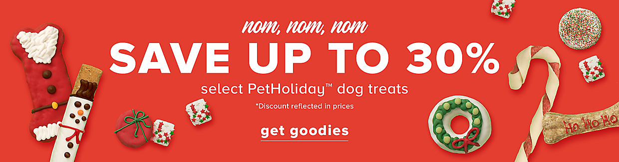 Save Up To 30% Select Dog PetHoliday Treats