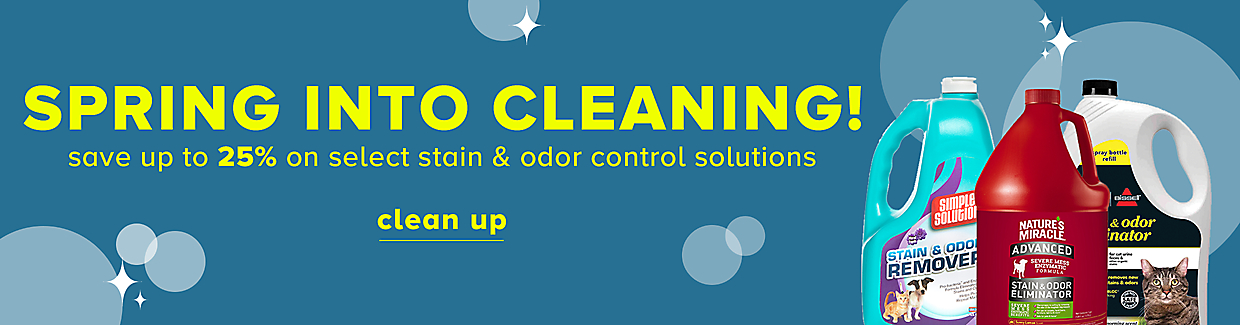 save up to 25% on select stain & odor control solutions