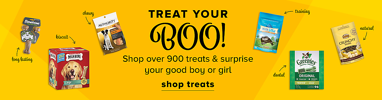 Shop over 900 treats