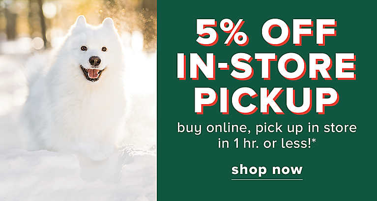 5% Off In Store Pick Up ...