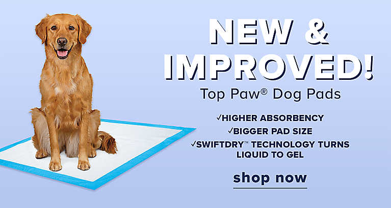 new and improved Top Paw dog pads