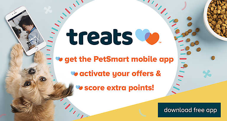 Download the free PetSmart mobile app to activate your offers and score extra points!