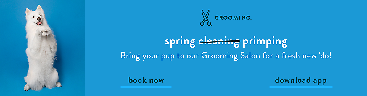Control their winter shed! Add a FURminator® deShedding service to their bath or groom to help reduce shedding up to 90%!*