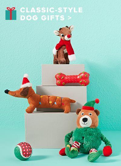 Pet Holiday Gifts: Christmas Stocking Stuffers, Toys & Treats | PetSmart