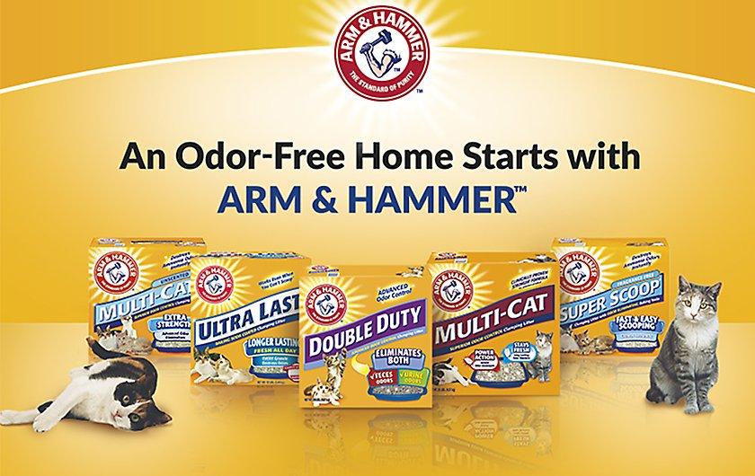 ARM & HAMMER™ clumping cat litters