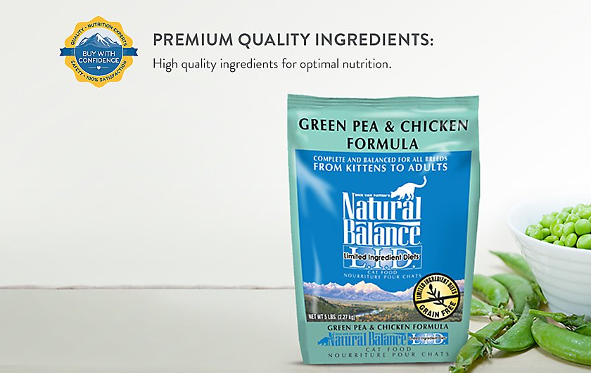 Natural Balance Kitten Food Ingredients