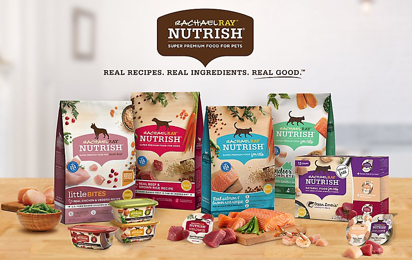 Rachel Ray Nutrish Pet Food for Dogs & Cats | PetSmart