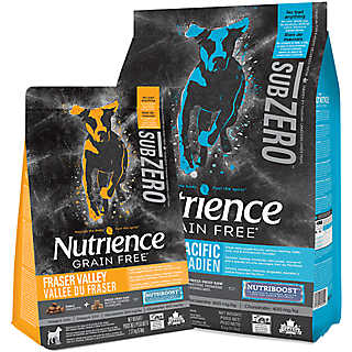 100% grain-free with the addition of raw protein for superior nutrition & a taste your dog will crave.