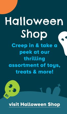 take a peak at our halloween shop