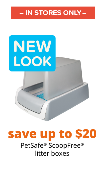 save up to $20 PetSafe® ScoopFree® litter boxes