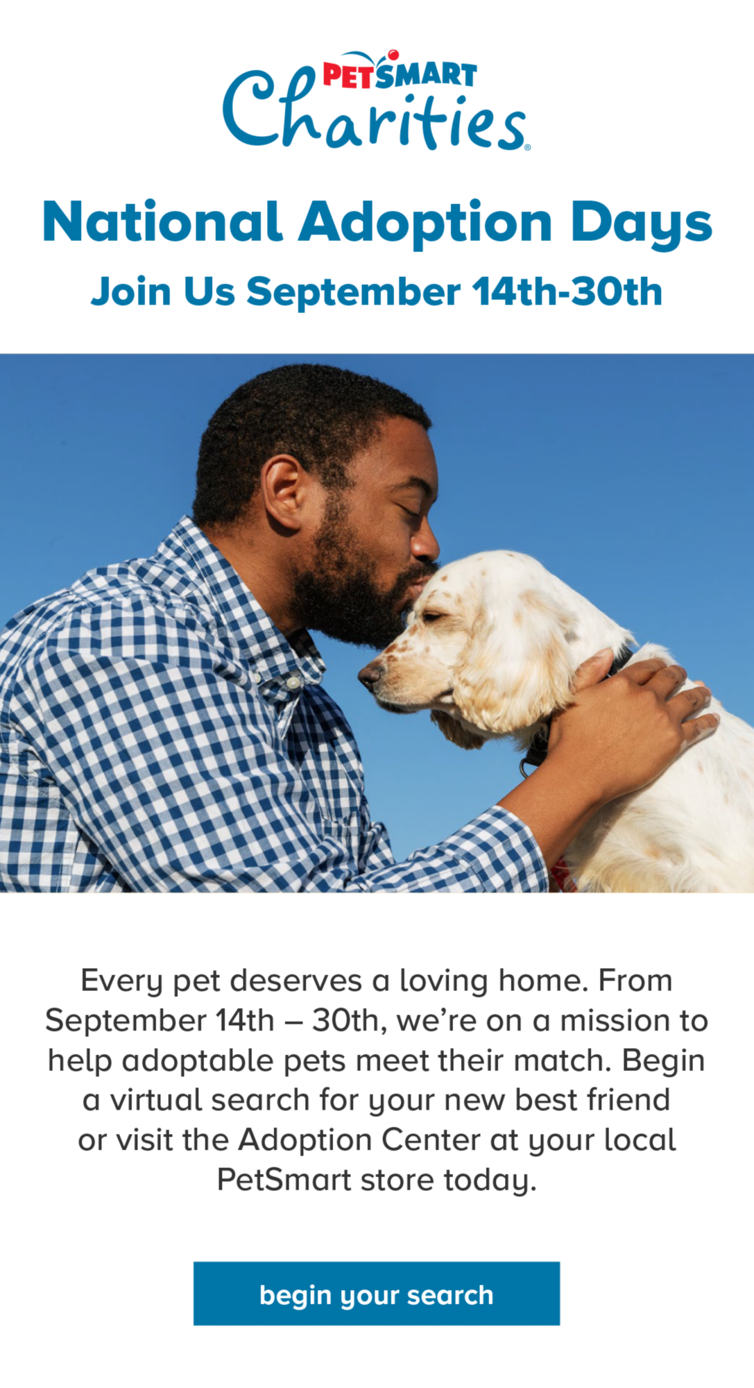 Petsmart Charities Page