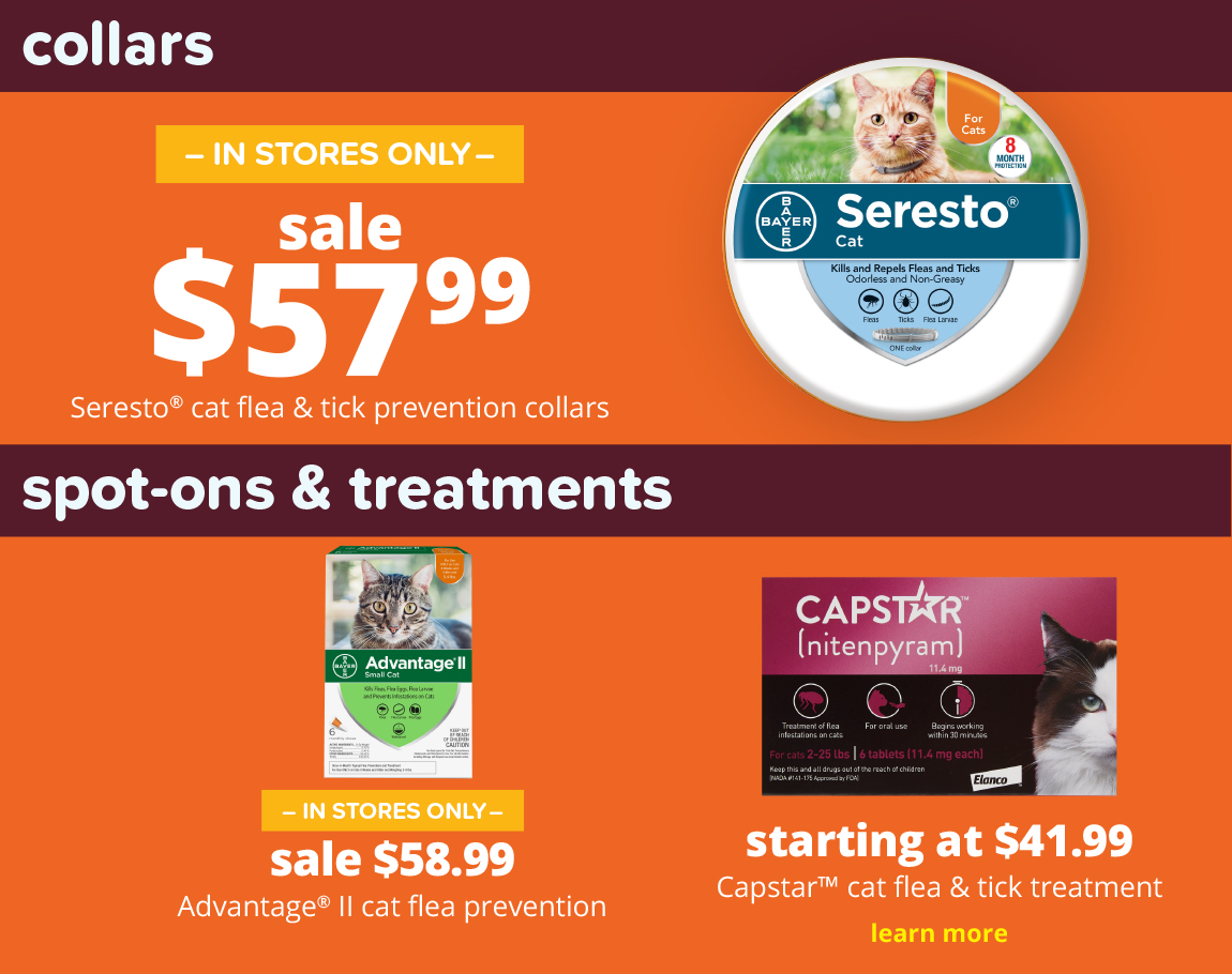sale $57.99 Seresto® dog flea & tick prevention