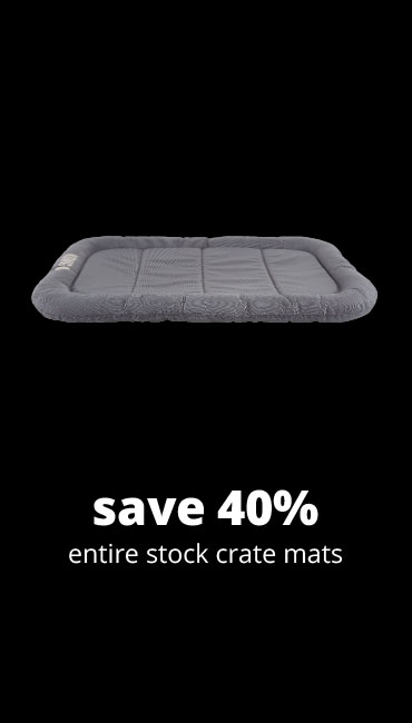 save 40% entire stock crate mats