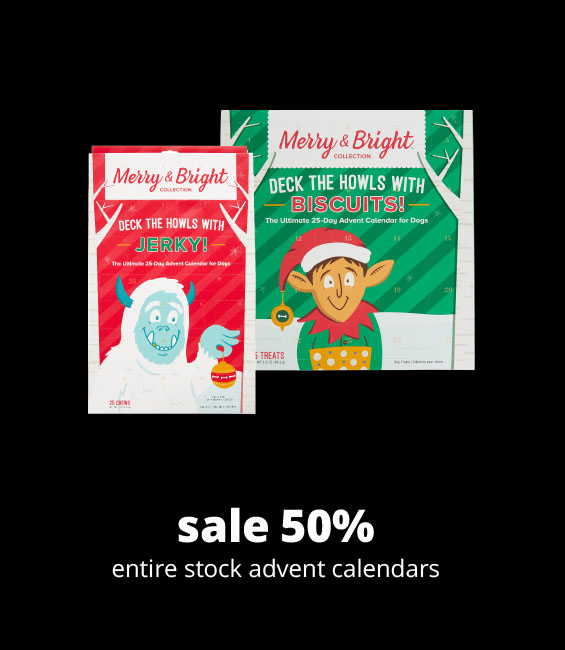 sale 50% entire stock advent calendars