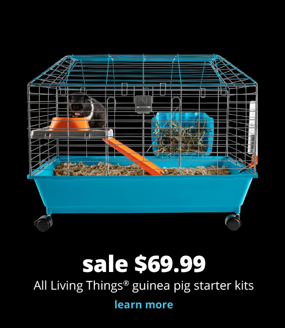 sale $69.99  All Living Things® guinea pig starter kits