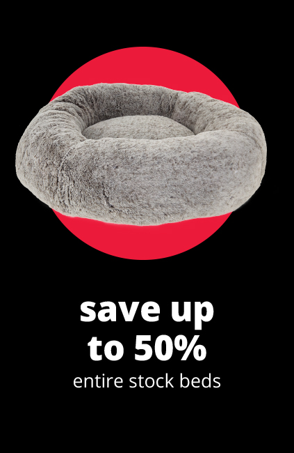 save up to 50%	entire stock beds